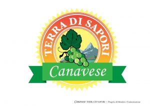 Logo e Libro Canavese, Terra di Sapori logo